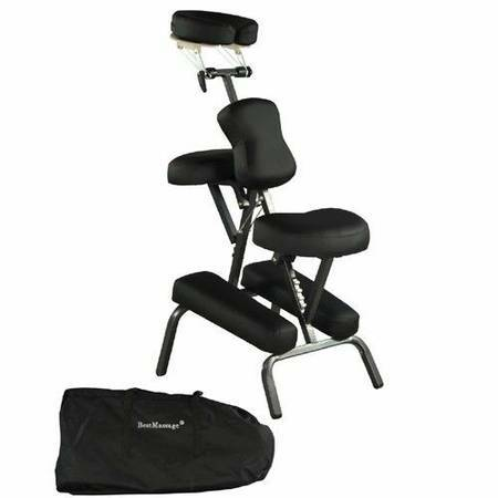 lightweight portable massage chair 2 5 padding