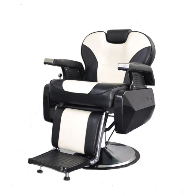 deluxe comfort reclining barber chair. Black Bedroom Furniture Sets. Home Design Ideas